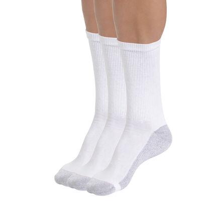 Lote de 3 calcetines de deporte blancos EcoDIM para hombre, , DIM
