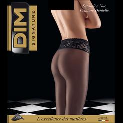 Collant noir DIM Signature sensation nue 31D-DIM