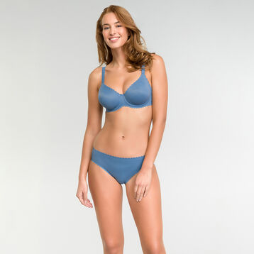 Braguita sin costuras invisibilidad total azul - Body Touch, , DIM