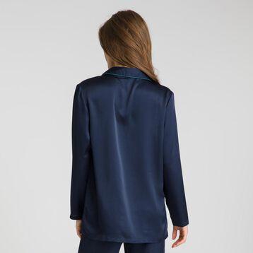 Chemise manches longues bleu marine Winter Dream-DIM