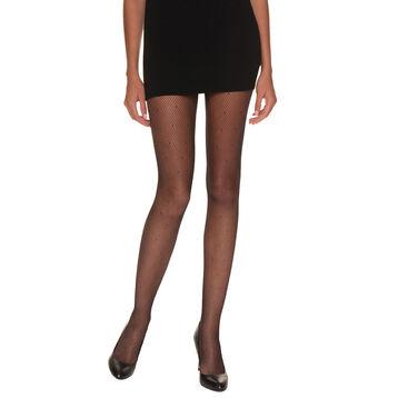 Panti So Sexy de rejilla con bordados negro 65D, , DIM