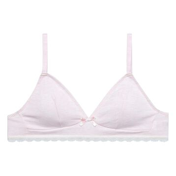 Soutien-gorge triangle rose pêche DIM TRENDY New Girl-DIM