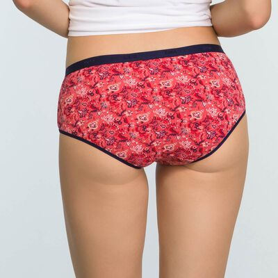 Pack de 3 culottes estampado de algodón elástico Cachemire Les Pockets, , DIM