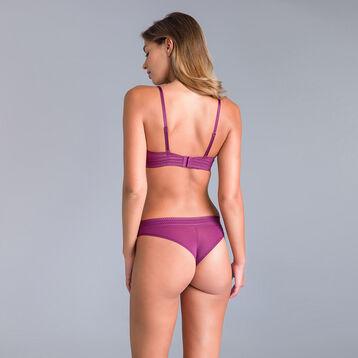 Soutien-gorge push-up dentelle violet Daily Glam-DIM