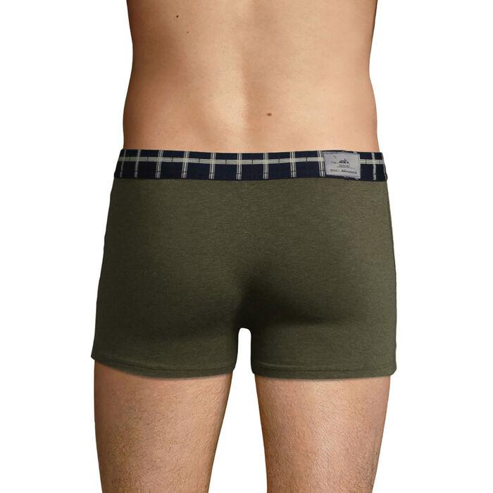 Bóxer para hombre verde jaspeado edición limitada The Adventurer, , DIM