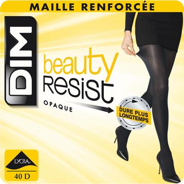 Collant Beauty Resist noir Opaque 40D-DIM
