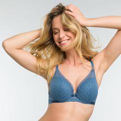 Sujetador push-up de encaje azul - Dim Daily Glam Trendy Sexy, , DIM