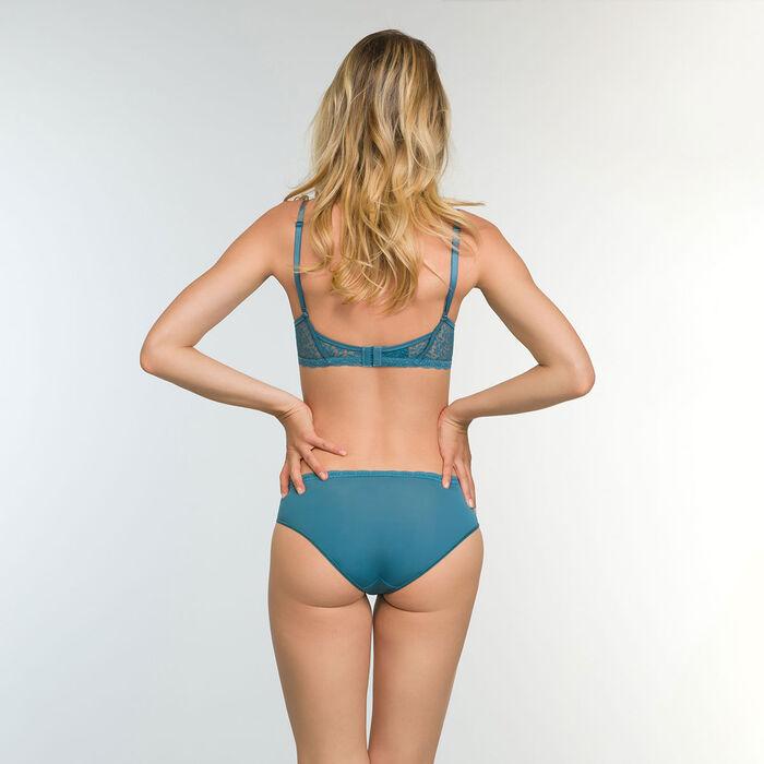 Sujetador halter Push-Up verde azulado Daily Glam Trendy Sexy, , DIM