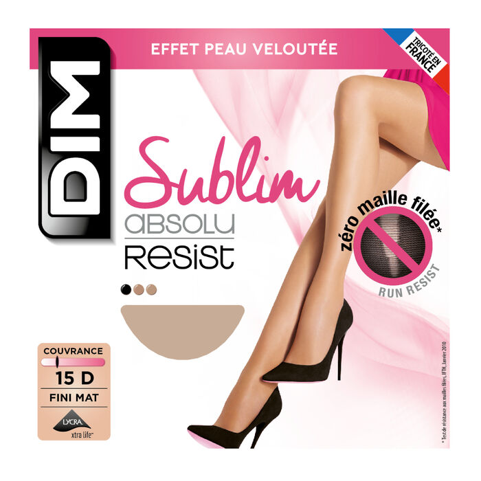 Panti beis natural Sublim Absolu® Resist 15D, , DIM