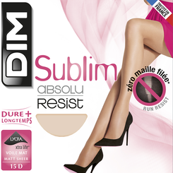 Collant ambre Sublim Absolu® Resist 15D-DIM