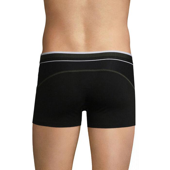 Bóxer  transpirable de algodón negro - Dim Sport, , DIM
