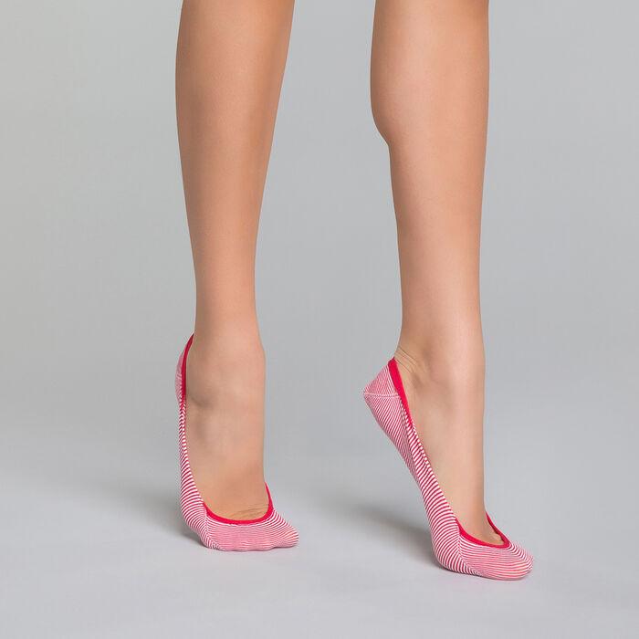 Pinkies rojos de rayas - Invisifit, , DIM