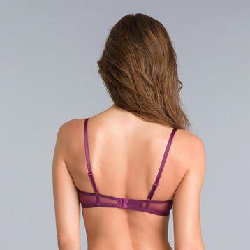 Soutien-gorge corbeille dentelle violet Daily Glam-DIM