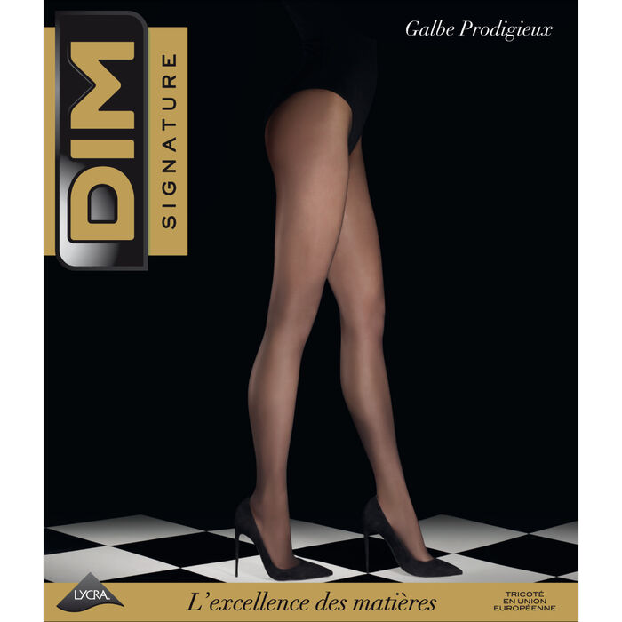 Panti DIM SIGNATURE negro Galbe Prodigieux 25D, , DIM
