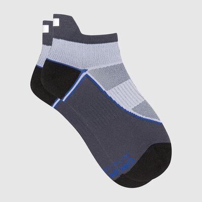 Calcetines para mujer en poliamida impacto fuerte gris Dim Sport, , DIM