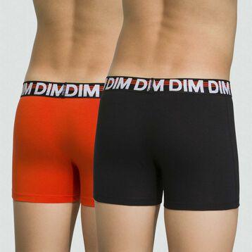 Pack de 2 boxers para niño de algodón elástico Eco Dim, , DIM