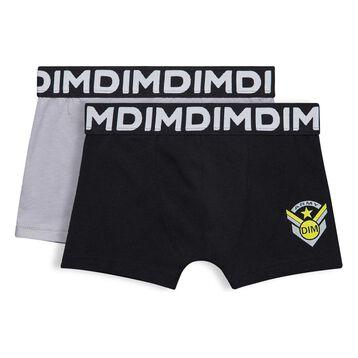 Lot de 2 boxers noirs DIM Boy-DIM