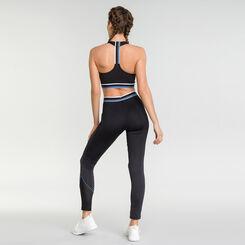 Legging de deporte negro mujer - DIM Sport, , DIM