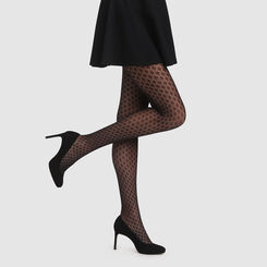 Panty negro crochet berever Stlyle de Dim, , DIM