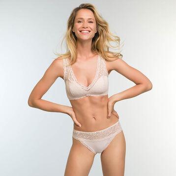 Braguita brasileña beige para mujer Daiyly Glam Trendy Sexy, , DIM