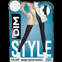 Lot de 2 collants noirs opaques Sneakers 50D-DIM