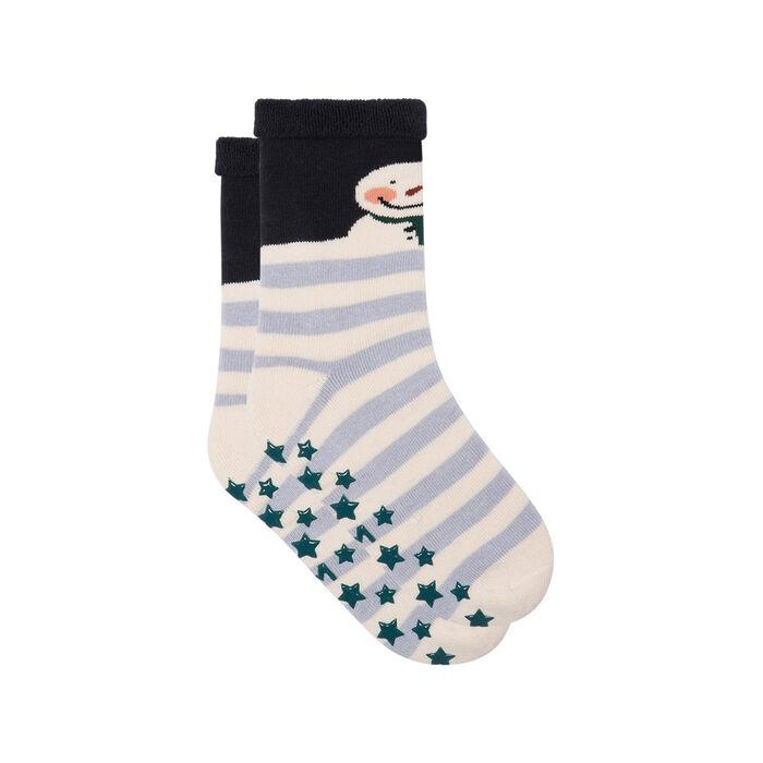 Calcetines para niños antideslizantes renos de Navidad Kids Cocoon, , DIM