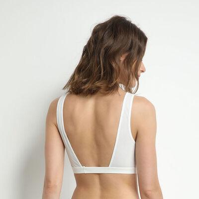 Sujetador halter con pechera frontal de encaje nacarado Jolie Madame, , DIM