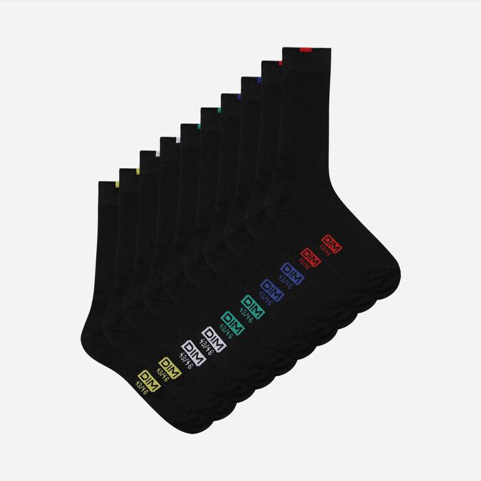 Lote de 5 pares de calcetines negros EcoDIM para hombre, , DIM