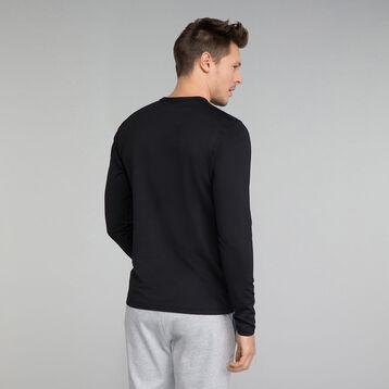 Camiseta térmica deportiva negra - Dim Sport, , DIM