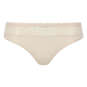 Braguita beige de encaje y microfibra Daily Glam Trendy Sexy, , DIM