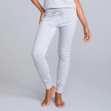 Pantalon gris chiné Essential-DIM