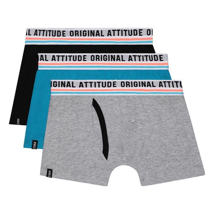 Pack de 3 bóxers Original Attitude DIM Boy, , DIM