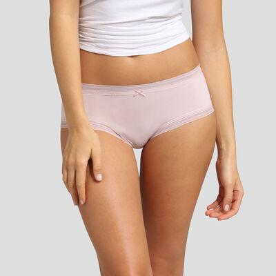 Culotte de microfibra rosa Bar à Culottes Dim, , DIM