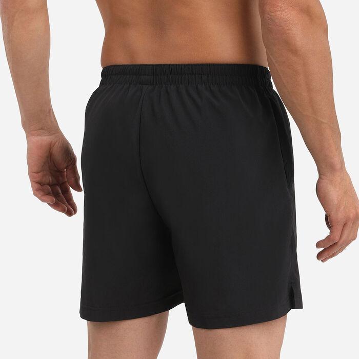 Pantalones cortos de secado rápido para actividades al aire libre Negro Dim Sport, , DIM