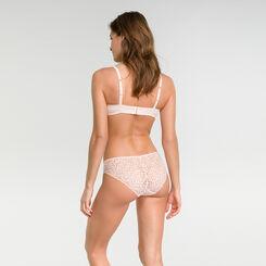 Sujetador con aros de encaje rosa bailarina -  Sublim Dentelle, , DIM