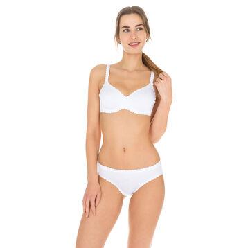 Braguita blanca Body Touch segunda piel para mujer, , DIM