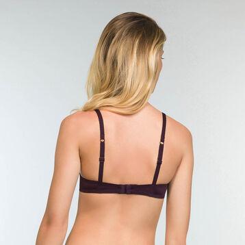 Sujetador halter push-up violeta Sublim Dentelle , , DIM