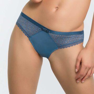 5c184b8b13 Braguita brasileña de encaje azul - Dim Daily Glam Trendy Sexy
