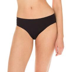 Slip negro Body Touch segunda piel para mujer, , DIM