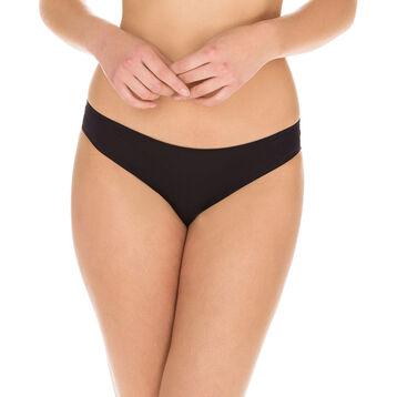 Braguita negra efecto segunda piel Invisi Fit, , DIM