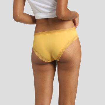 Braguita de microfibra amarilla Bar à Culottes Dim, , DIM