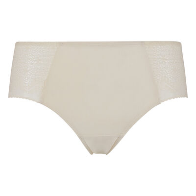 Dim Clair-Obscur Mother-of-pearl lace and microfibre Shorty, , DIM