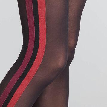 Panti fantasía sporty look negro y rojo 40D - Dim Style, , DIM