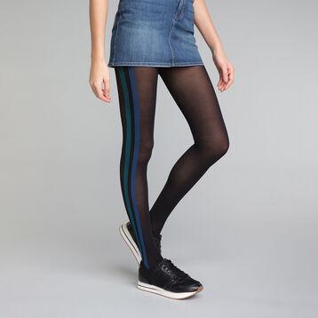 Panti fantasía sporty look negro y azul 40D - DIM Style, , DIM