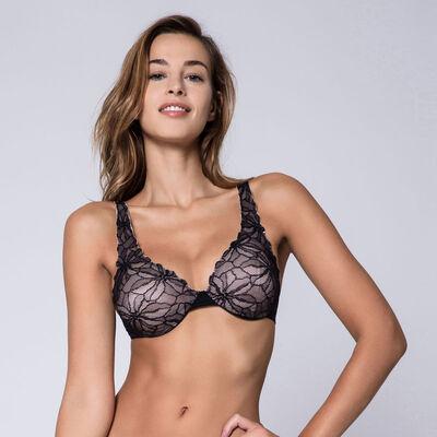 Soutien-gorge animal lace Femme Beauty Lift 3 zones d'action-DIM