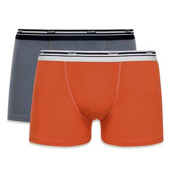 Lot de 4 boxers coloris automne Daily Colors-DIM