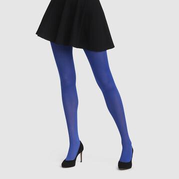 Panty azul eléctrico opaco aterciopelado Style de Dim 50D, , DIM