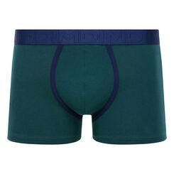 Bóxer verde de algodón elástico Mix & Fancy, , DIM