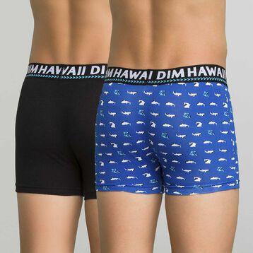Pack de 2 bóxers azul y negro - Dim Boy, , DIM