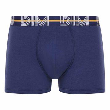 Bóxer azul oscuro de algodón elástico - Dim Powerful, , DIM